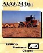 ACO 210I 4WD brochure