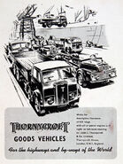 A 1940s Thornycroft Good Vehicles Catalogue