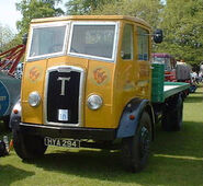A 1940s Thornycroft Sturdy petrol engined