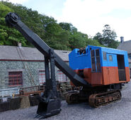 A 1950s Smith Of Rodley 14 Crawler Excavator Diesel