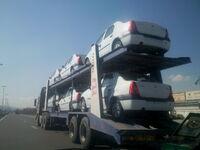 Car Transporter in Arak
