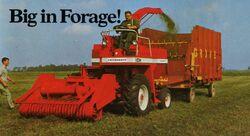 Cockshutt 840 forage harvester brochure