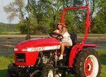 Emerybuilt 1254 MFWD (red) - 2003
