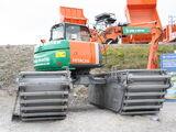 Floating excavators