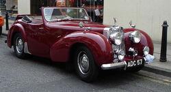 Triumph 1800 roadster FR
