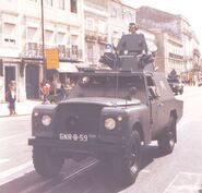1979 BRAVIA Comando Diesel 4X4 Police