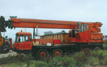 1980s VICKERS-AWD Smith LT35 Cranetruck Diesel