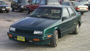 1993 Plymouth Duster green