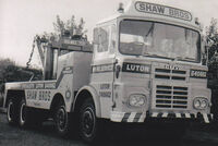 A 1960s GUY BIg J8 Wrecker