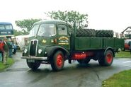 A 1960s Thornycroft Trident lorry