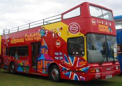 DAF DB250 open top bus