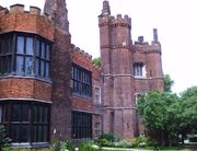 Gainsborough Old Hall tower