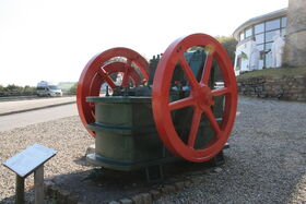 Hadfields jaw crusher at Wheal Martyn china clay museum - IMG 0187