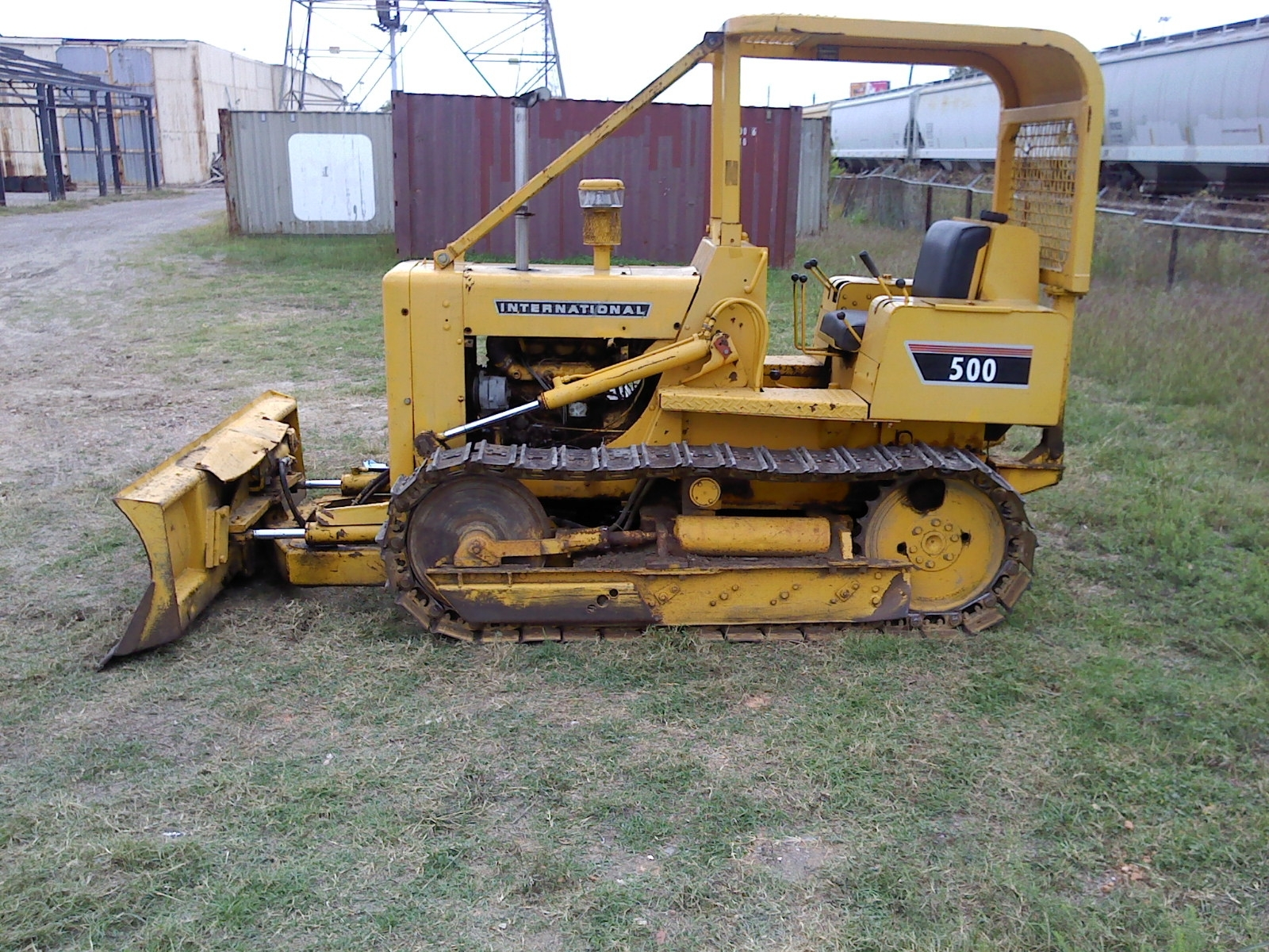 Ih 500e Dozer Purchased 11 2017