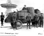 Jeffery armoured car 1915