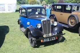 Morris Eight - AKB 723 at Wollaton park 2011 -IMG 0725