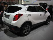 Opel-Mokka Rear-view
