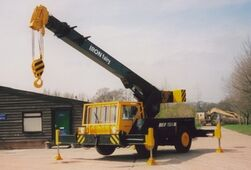 2008 IRON FAIRY IF15AT 4WD TD Crane