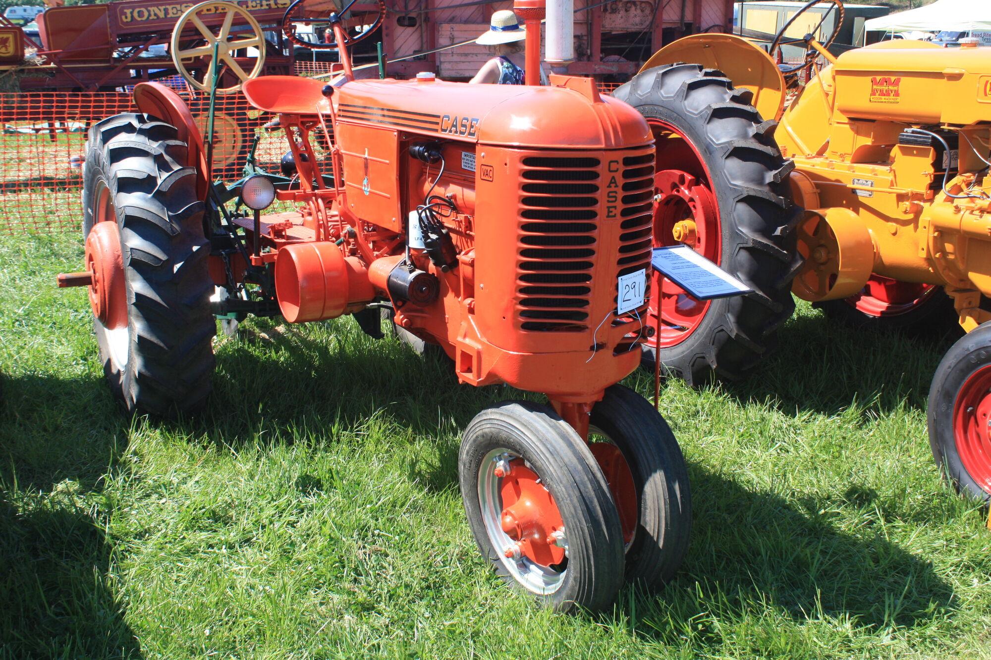 Case Vac Plowing : Case vac tractor construction plant wiki fandom