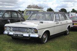 Ford Zodiac Mk IV estate Reg April 1971
