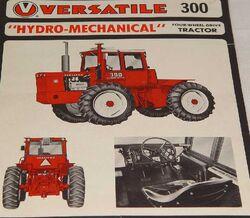 Versatile 300 brochure