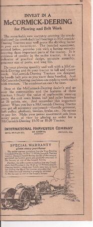 1923 15-30 ad