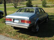 AMC Eagle sedan blue r