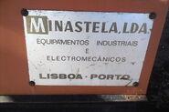 A 1980s Vima Sitedumper nameplate