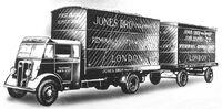 A 1940s GUY Otter Boxvan