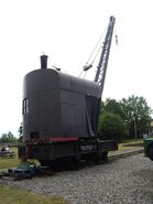 A 1940s Smith Of Rodley Steam Railway Crane