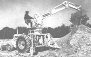 A 1960s Whitlock Brothers 405 Digger Loader Diesel