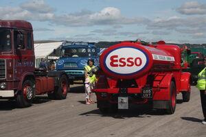 Bedford O Tanker - 855 UXT at Cumbria 09 - IMG 0620