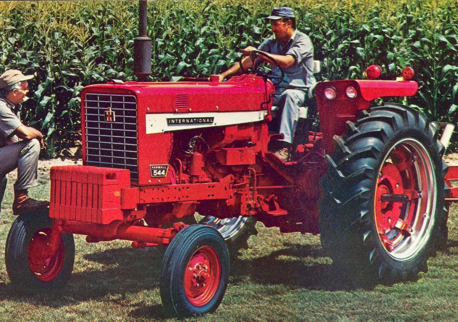 Farmall 544 | Tractor & Construction Plant Wiki | FANDOM