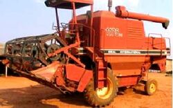 IDEAL 1175 Turbo combine (IH) - 1990