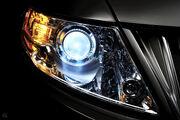 Lincoln xenon headlamp