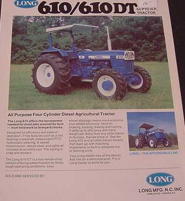 Long | Tractor & Construction Plant Wiki | FANDOM powered by