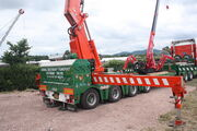 Nooteboom trailer Fassi crane at welland 2010IMG 8328