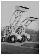 A pair of the 1970s weatherill 42HB loaders