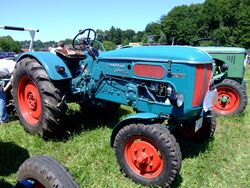 Hanomag Perfekt 400 (blue)