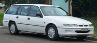 White station wagon automobile