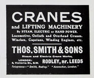 A 1910 Thomas Smith Of Rodley company catalogue