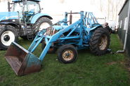 A 1960s Whitlock Digger Loader at the Newark Vintage Tractor and heritage show 2012