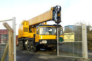 A 1980s Smith of Rodley LT35 AWD Vickers Cranetruck