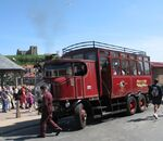 Sentinel Steam Bus ELIZABETH at Whitby - geograph.org.uk - 1605303
