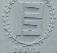 The Original 1980s BRAVIA Vehicles Logo