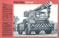A 1960s IRON FAIRYU Garnet Mobilecrane