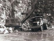A 1960s NCK Ajax 605 Excavator Shovel