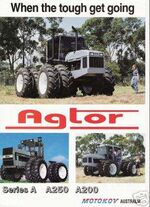 Agtor 4WD brochure