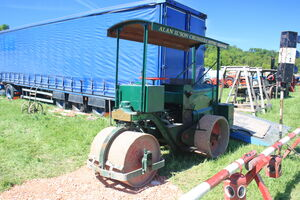 Aveling-Barford AD117 of Ilson crushers at Belvoir 2010 - IMG 2830