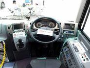 Hino-motors selega-hybrid RU1ASAR cockpit